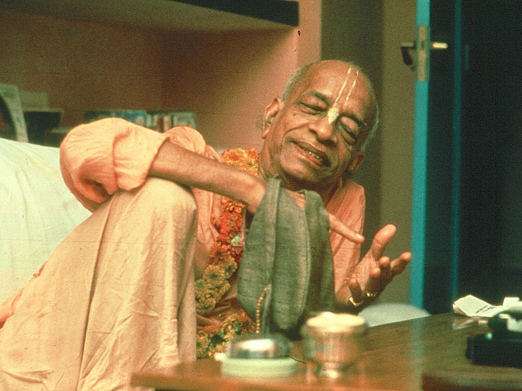 Prabhupada was saying how did this miracle happen to me i m an