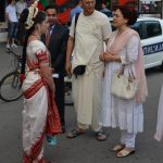 Ambasador of India visiting the festival