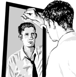 Image result for the guy in the mirror