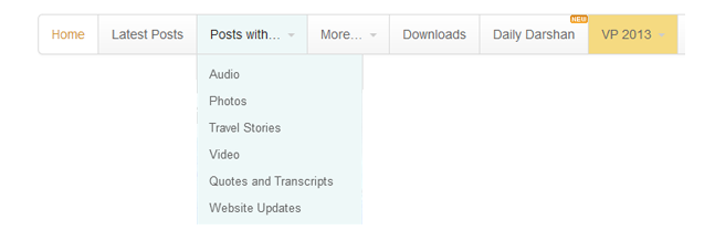 kksblog update menu navigation 2013