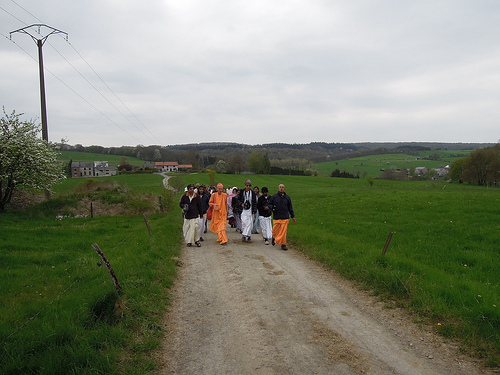 japa walk_radhadesh_may 2013