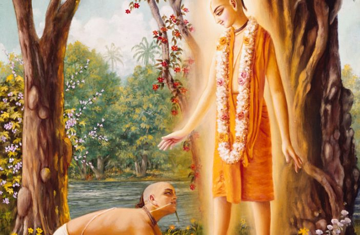 Lord Caitanya and Sanatana Goswami