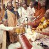 Srila-Prabhupada-initiates-a-disciple