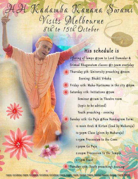 Maharaj Program_October2014