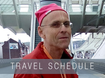 Travel Schedule