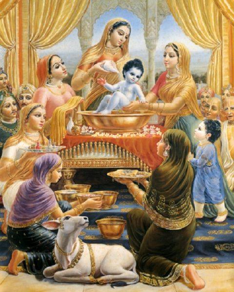 Krishnabathingtime