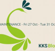 KKSBlog Maintenance 27-31 Oct