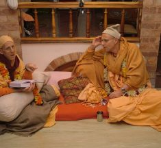 Q&A with KKS: First contact with spiritual master