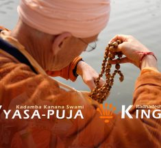 Vyasa-puja and Kingsday 2019