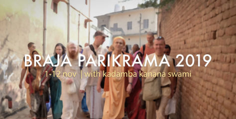 Vrindavana Braja Parikrama 2019 Registration